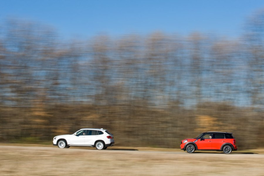 BMW X1 vs Mini Countryman