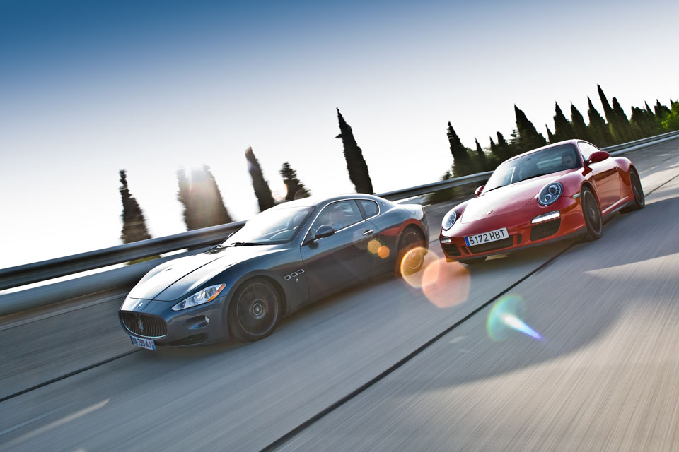 Maserati vs Porsche