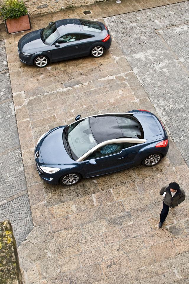 Audi TT vs Peugeot RCZ
