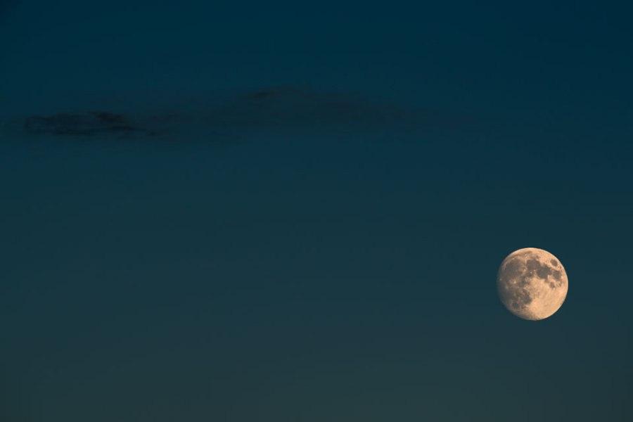 La luna en Segovia
