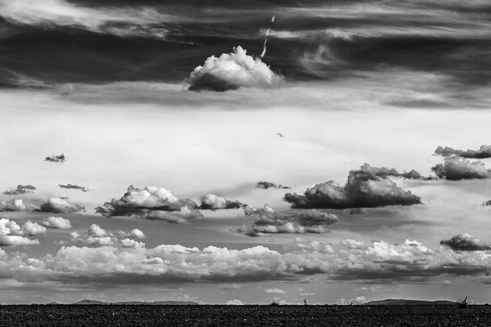 Nubes en Castilla y León