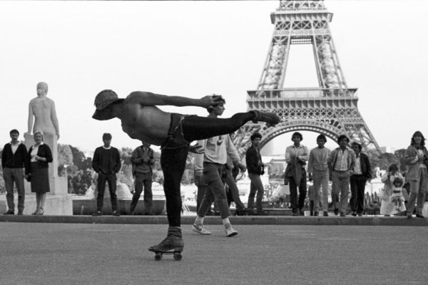 El patinador. Paris 1985.