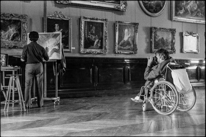 El copista. Museo del Louvre. París 1985