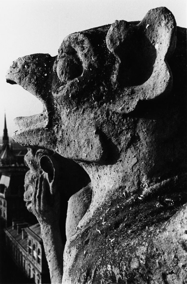 Gárgolas. París 1985
