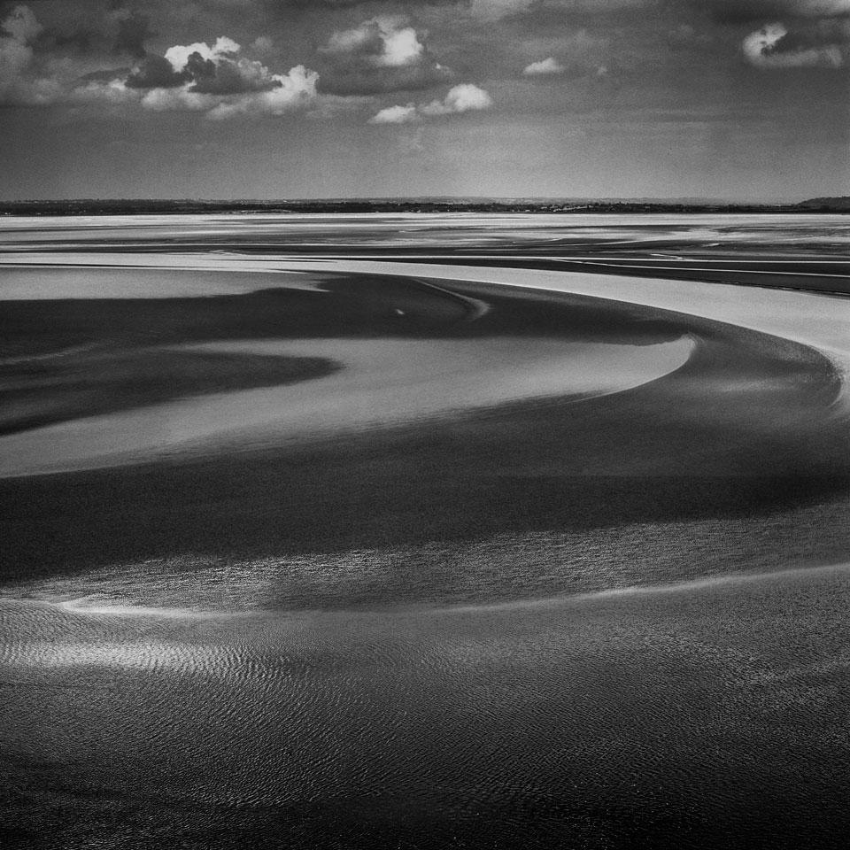 Marea en Normandía