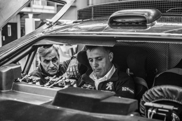 Carlos Sainz - Lucas Cruz. Peugeot 2008 DKR 2016