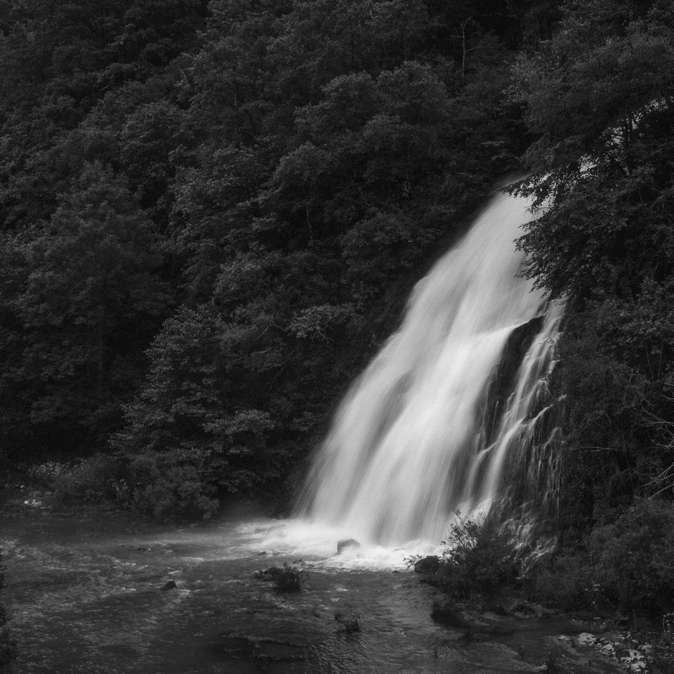 Cascada en Irati. Navarra