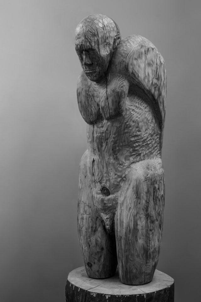 El sufridor. Escultura de Damián Gironés