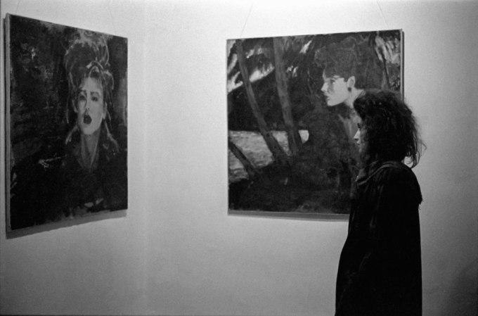 Exposición de pintura de Pedro Cuní. 1986