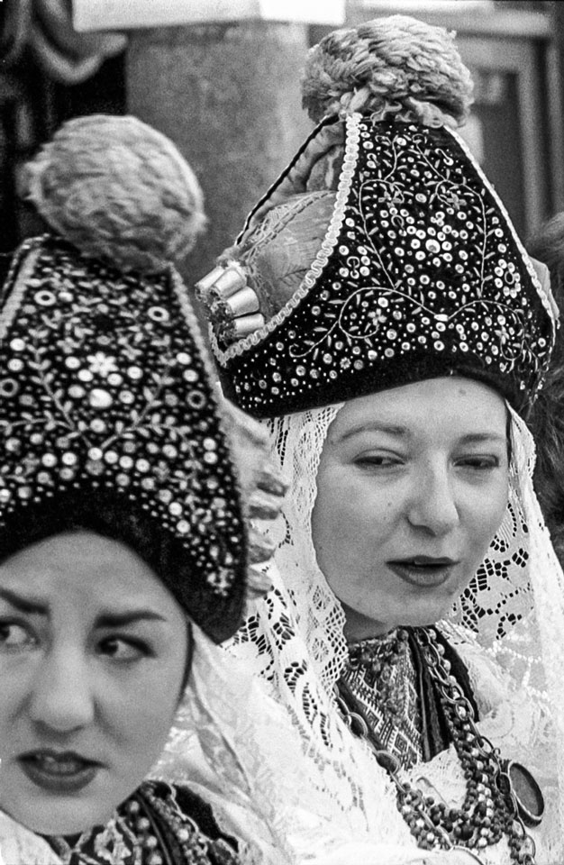 Mujeres castellanas. Segovia, 1986.