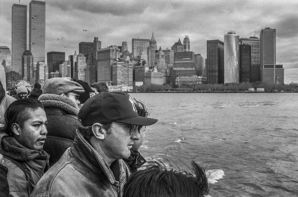 Skyline de Nueva York, 1996.