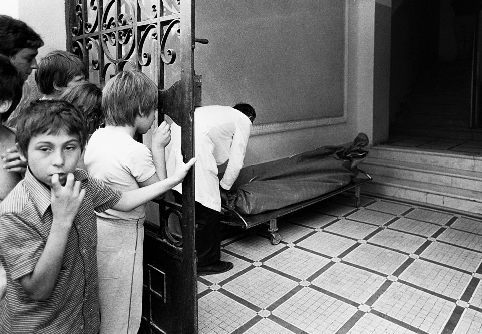 El cadaver y la curiosidad. Valencia, años 80.