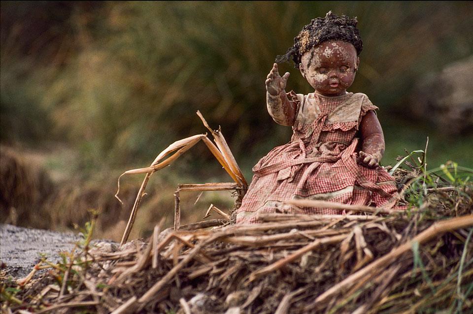 La muñeca abandonada. 1990.