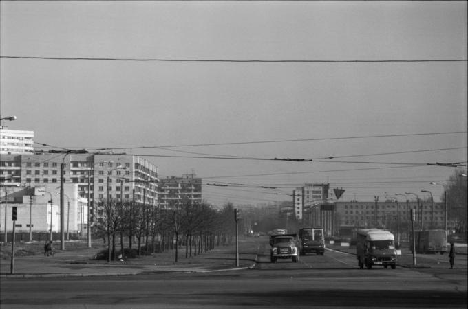 Leningrado, URSS, 1989.