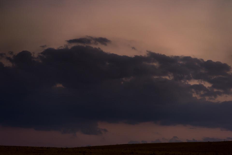 Nubes en La Moraña, Ávila.