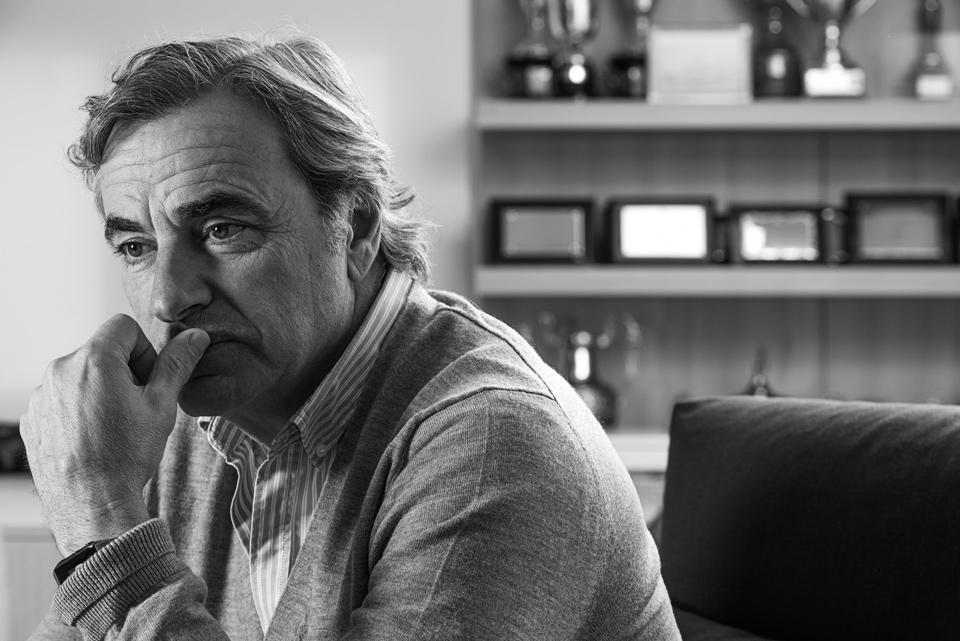 Carlos Sainz. Revista Automóvil, especial 40 aniversario.
