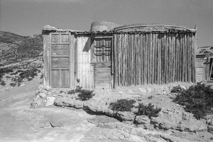 Caseta de pescadores. Rodalquilar, septiembre de 2001.